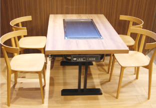 Facility Japanese Teppan Griddles For Commercial Use And - Teppan table